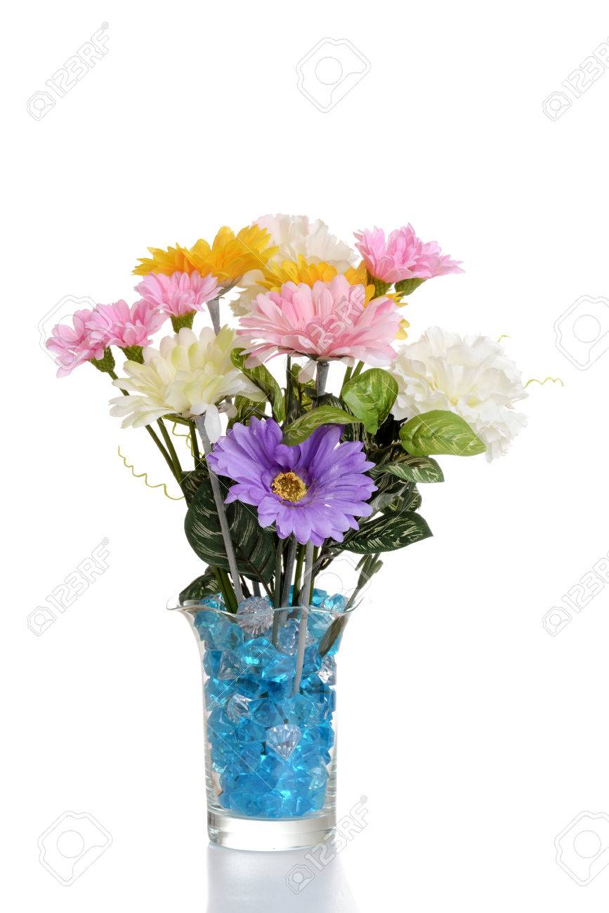 Faux Flower Arrangement In Vase Stock Photo Picture And Royalty Free Image Image 33430333