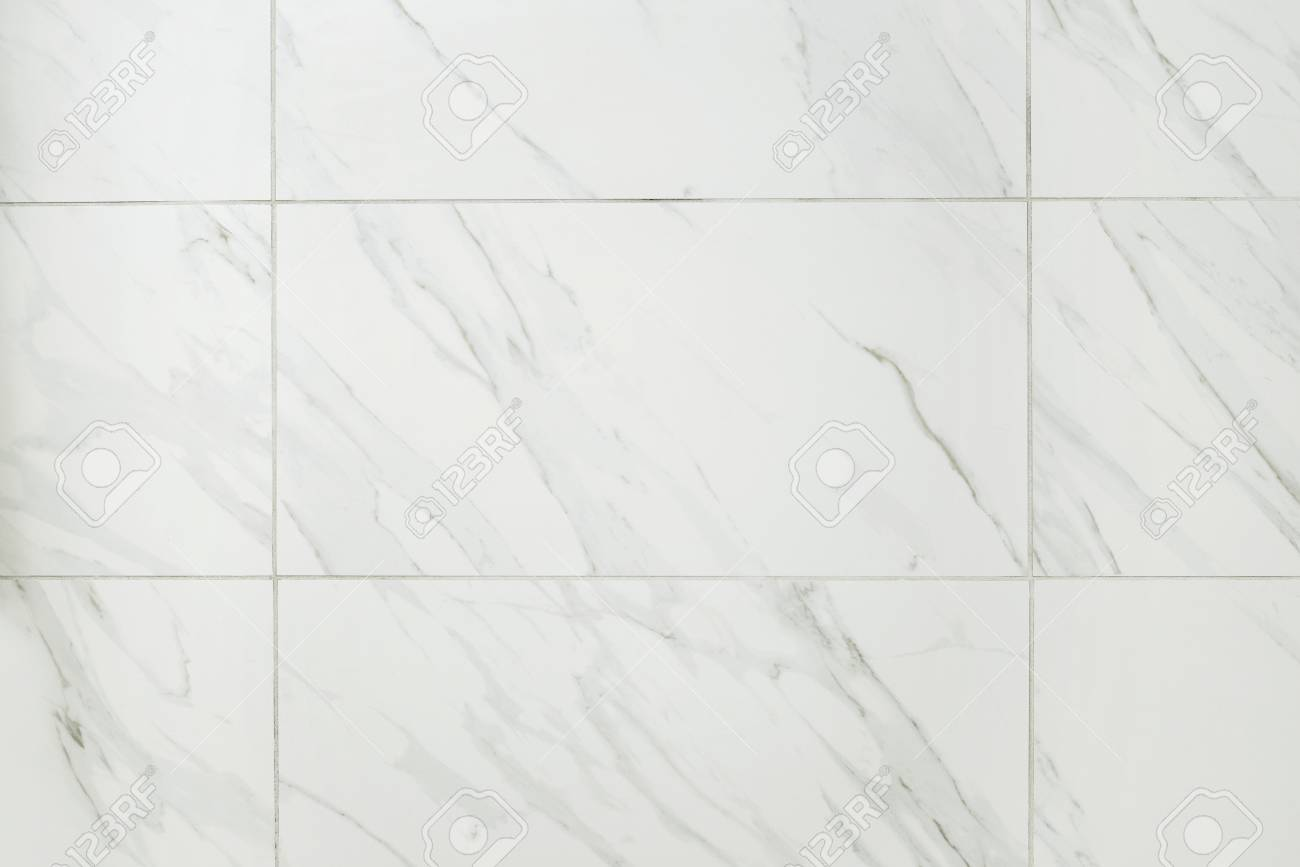 Large Marble Tile Bathroom Wall Stock Photo, Picture And Royalty ...