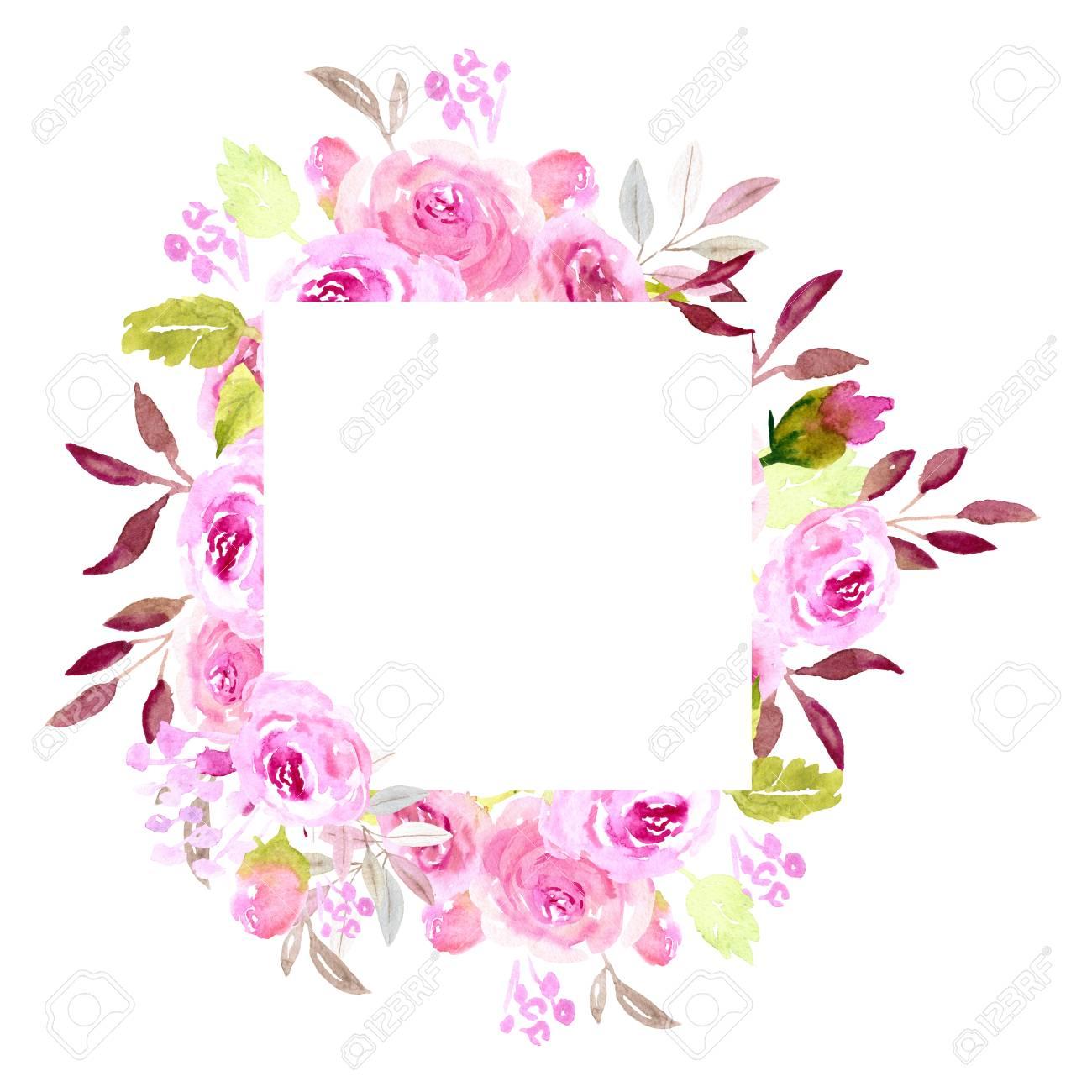 PAINTING ILLUSTRATION FLOWERS PETALS PINK SOFT PRETTY FRAMED ART PRINT B12X12927
