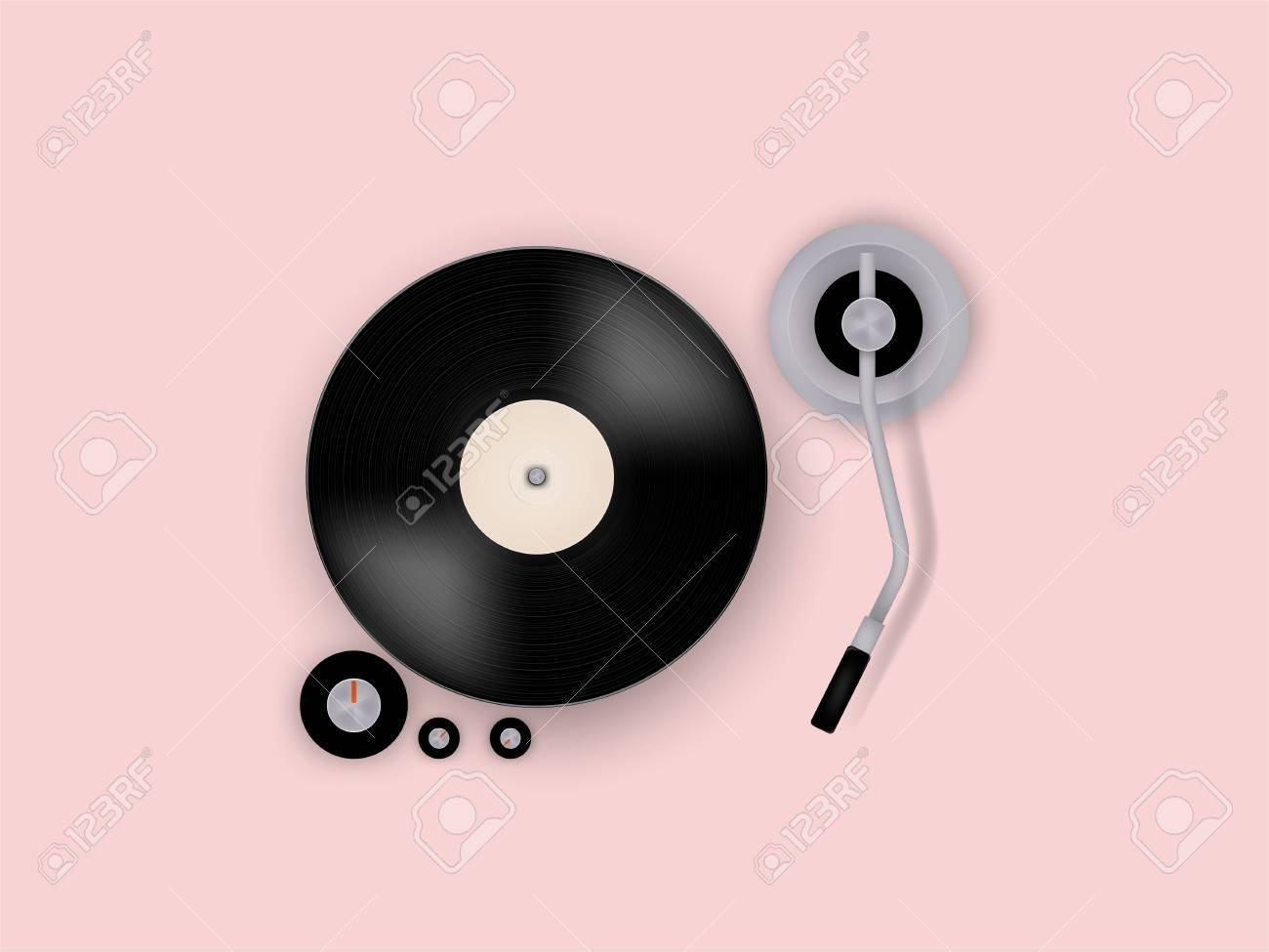 graphic design vector of gramophone vinyl record on record player royalty free cliparts vectors and stock illustration image 68477900 graphic design vector of gramophone vinyl record on record player