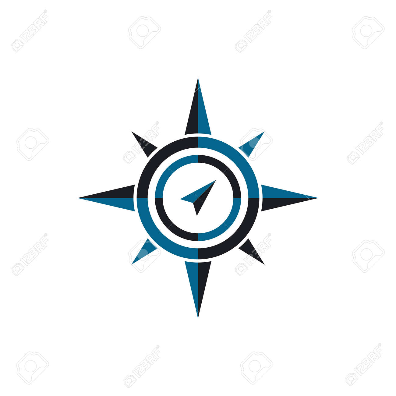 Compass Logo Template vector icon illustration design - 157741510