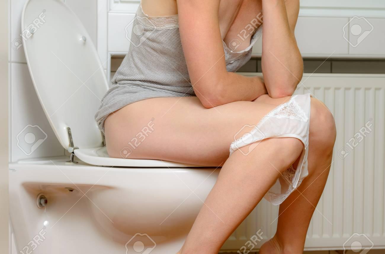 Panties Toilet