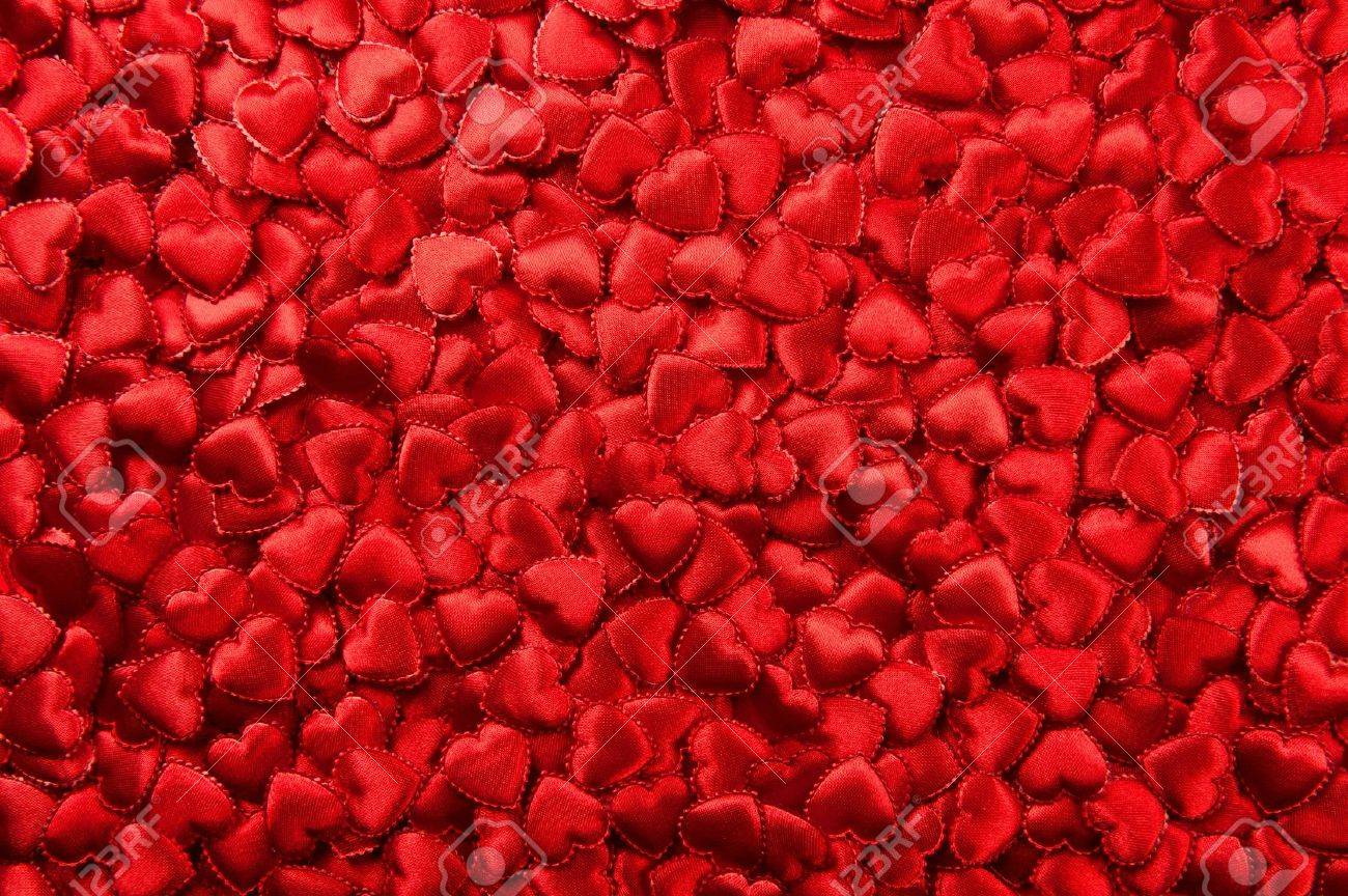 Tiny red Valentine hearts Stock Photo - 11884874