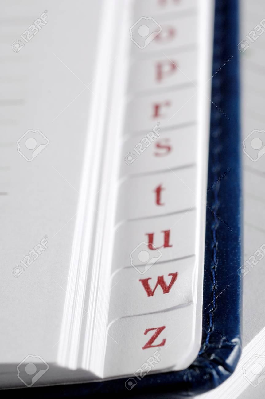 Phone book closeup Stock Photo - 12441724