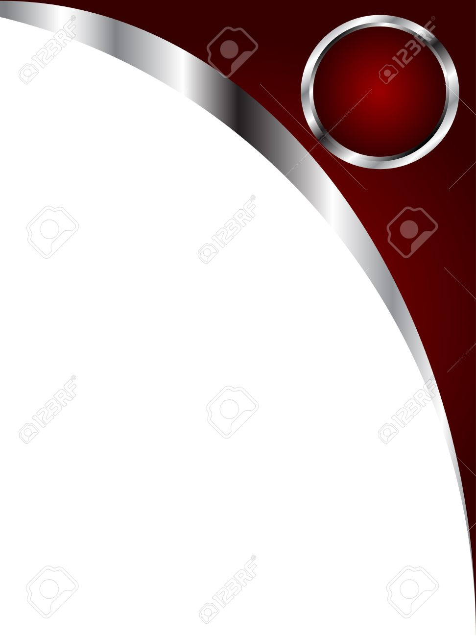 A deep red and silver and white business card or background template a deep red and silver and white business card or background template stock vector 8284233 reheart Gallery