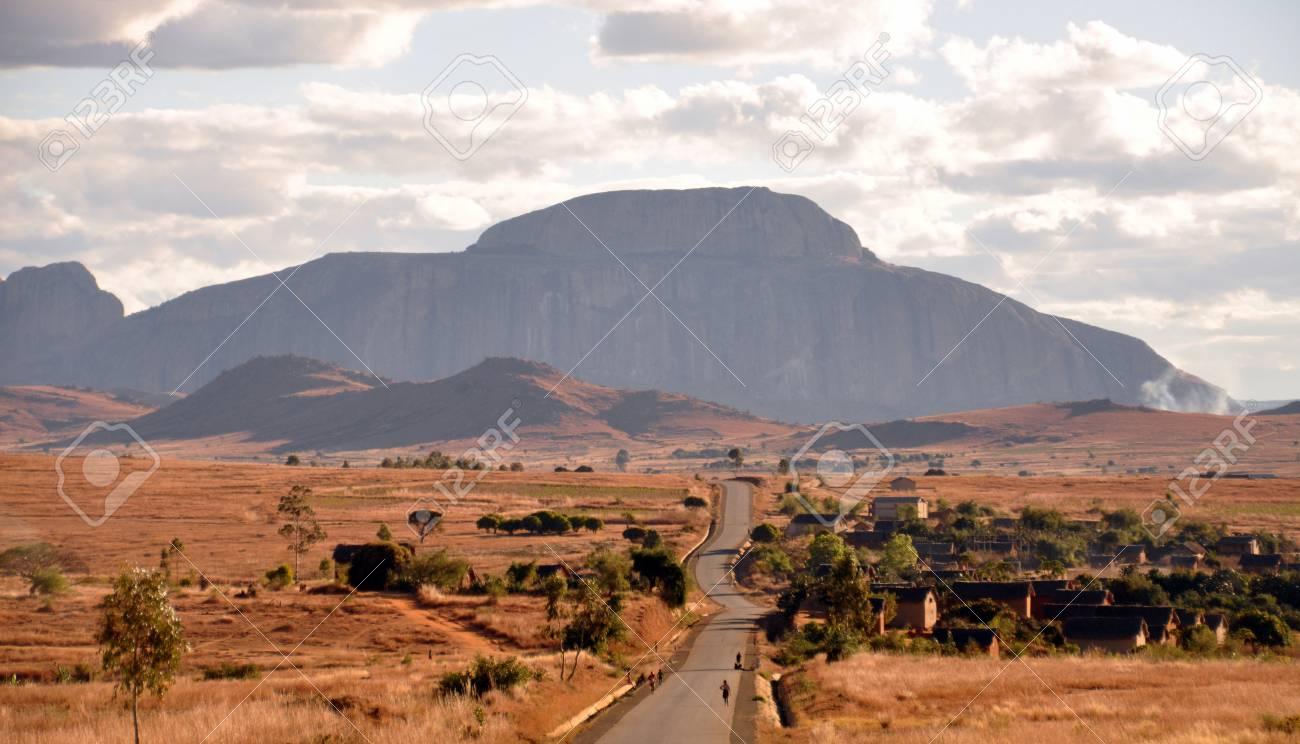 Madagascar landscape Stock Photo - 21887390