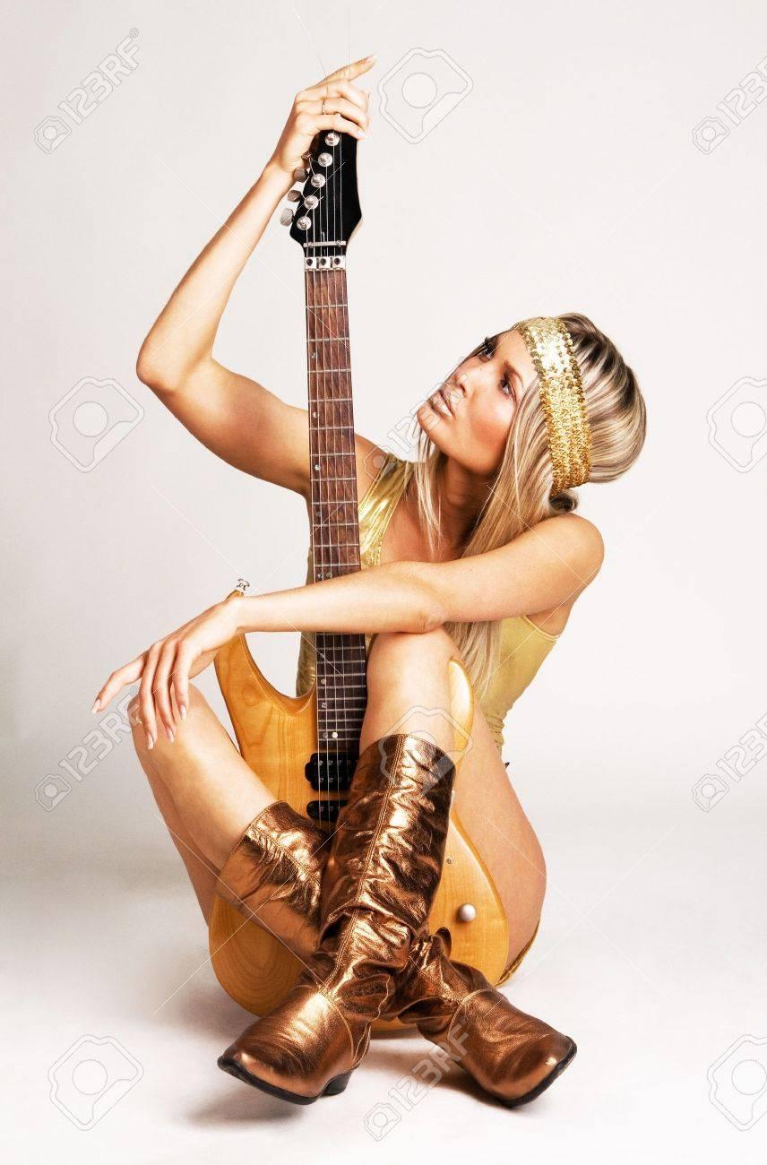 guitare electrique pour femme