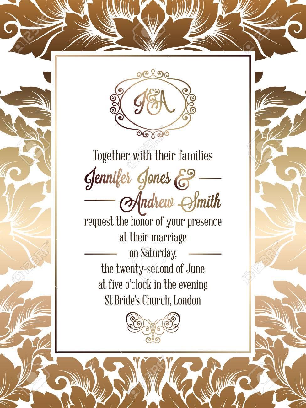 Formal Invitation Designs Wpart Co