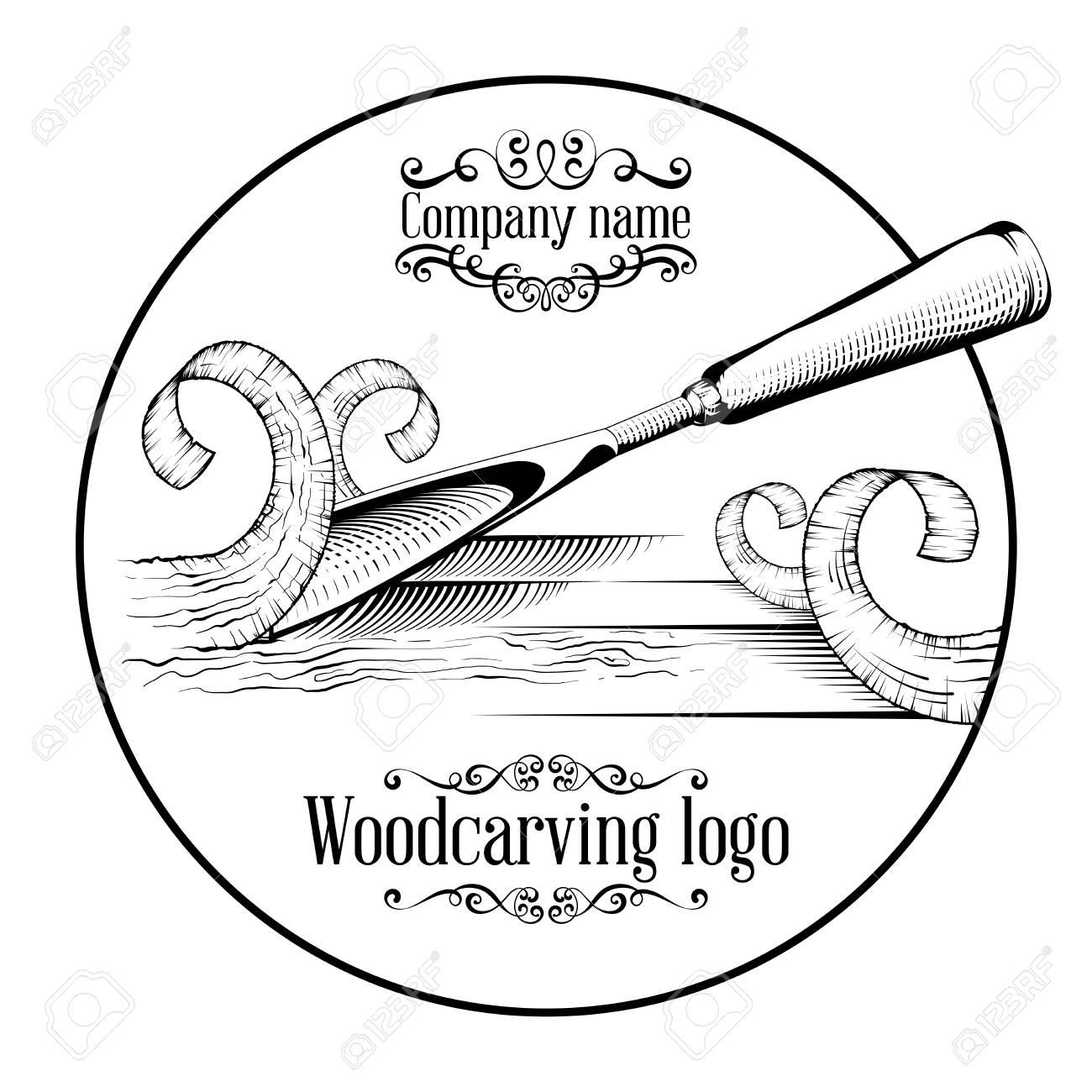 Chisel Shavings Drawing Line Art
