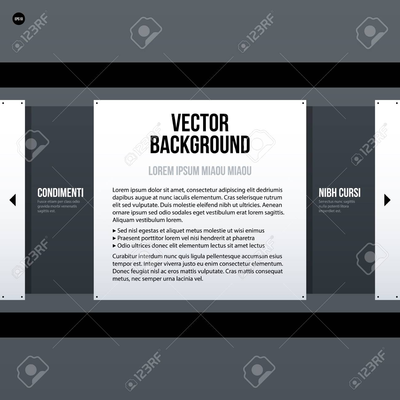 Corporate Tex Background Template. Useful For Presentations ...