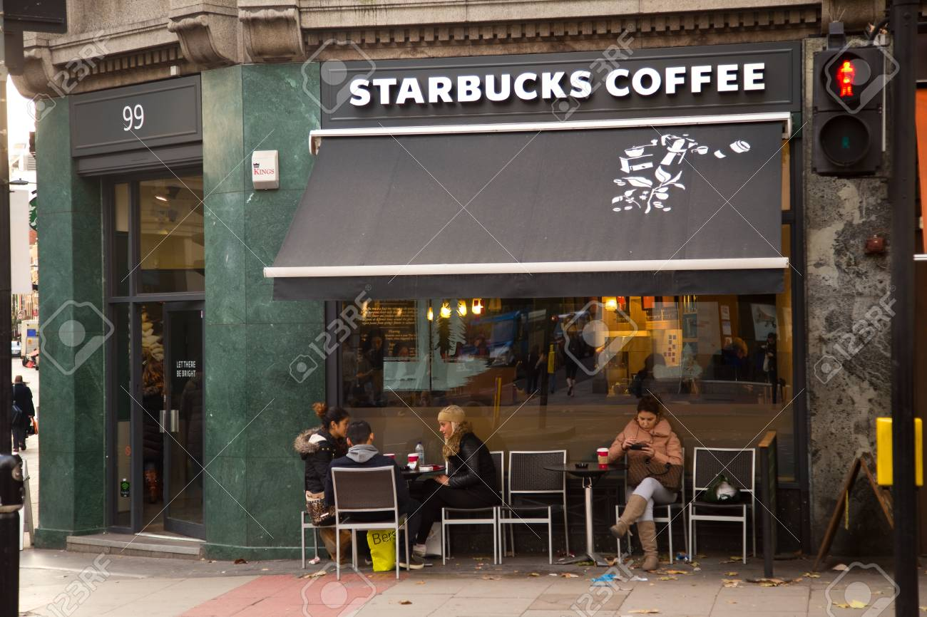 London December 11th The Exterior Of A Starbucks Coffee Shop Stock Photo Picture And Royalty Free Image Image 34723541