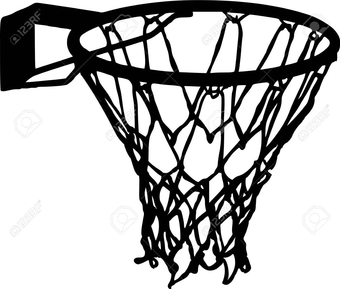 basketball net basket details vector royalty free cliparts vectors