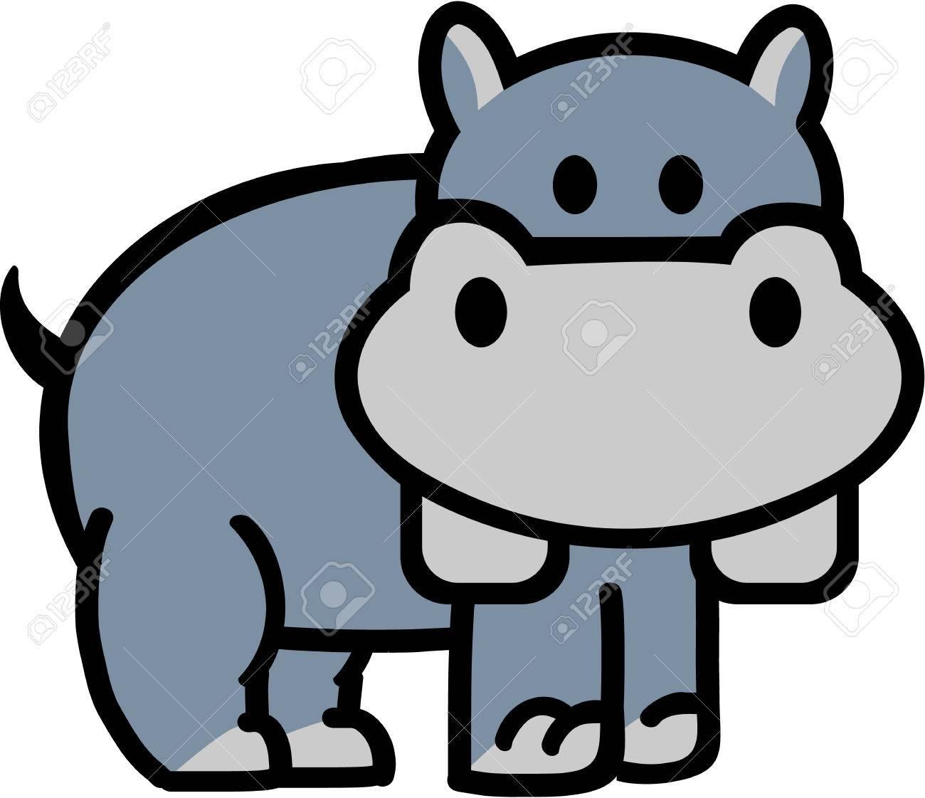 cute cartoon hippo royalty free cliparts vectors and stock rh 123rf com funny hippo cartoon pictures funny hippo cartoon pictures