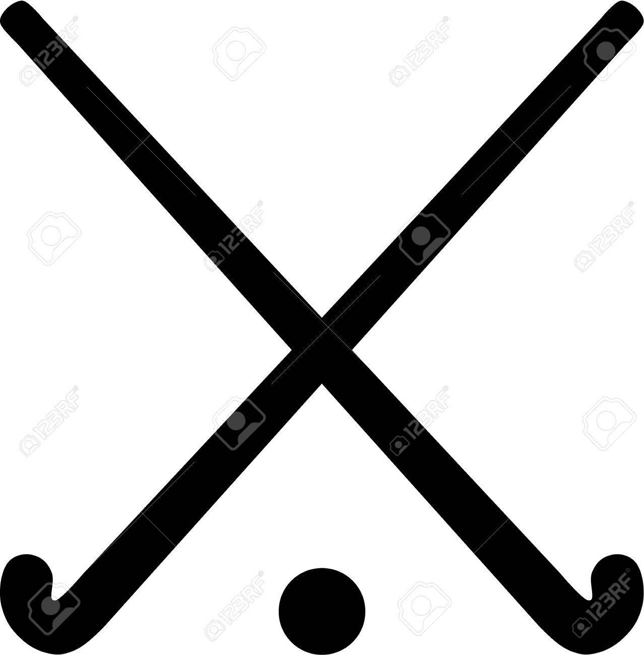 field hockey sticks with ball royalty free cliparts vectors and rh 123rf com field hockey stick vector free download hockey stick vector free download