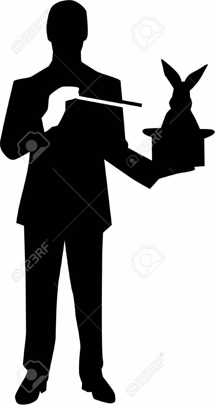 Magician Silhouette - 40900352