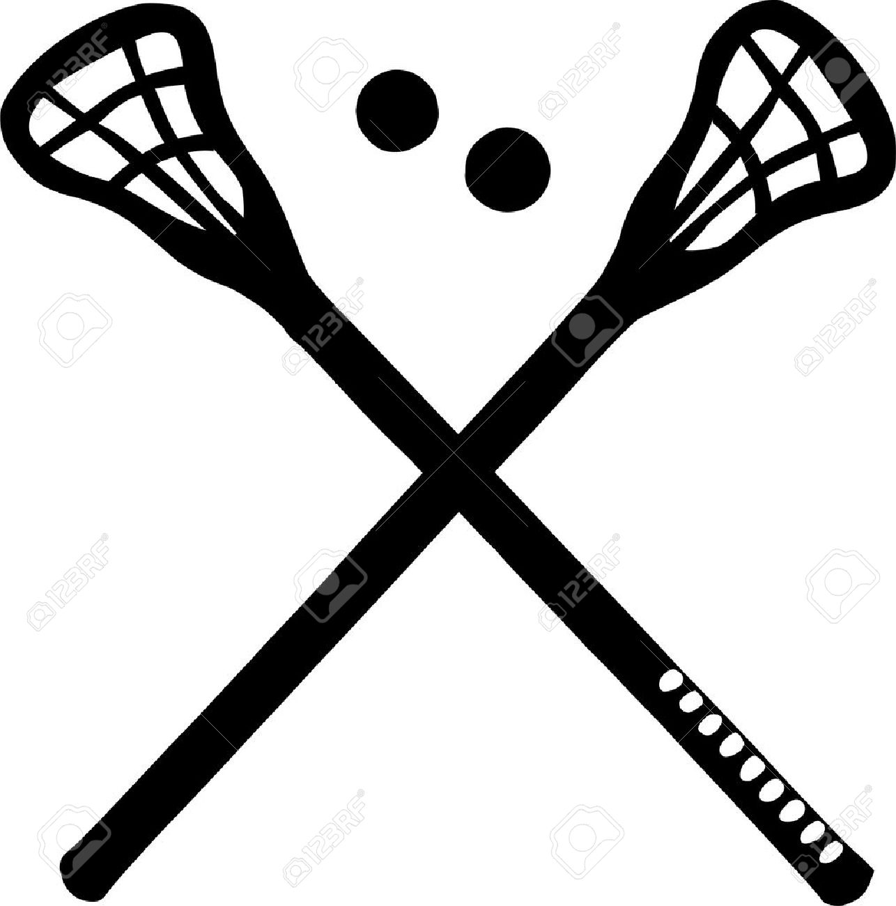 crossed lacrosse sticks royalty free cliparts vectors and stock rh 123rf com