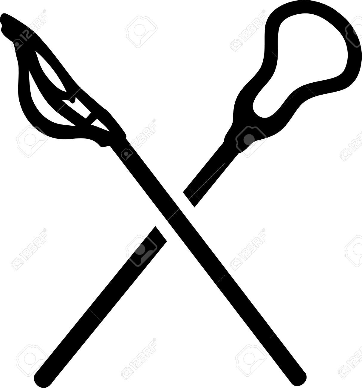 lacrosse sticks icon royalty free cliparts vectors and stock rh 123rf com lacrosse stick clip art black white