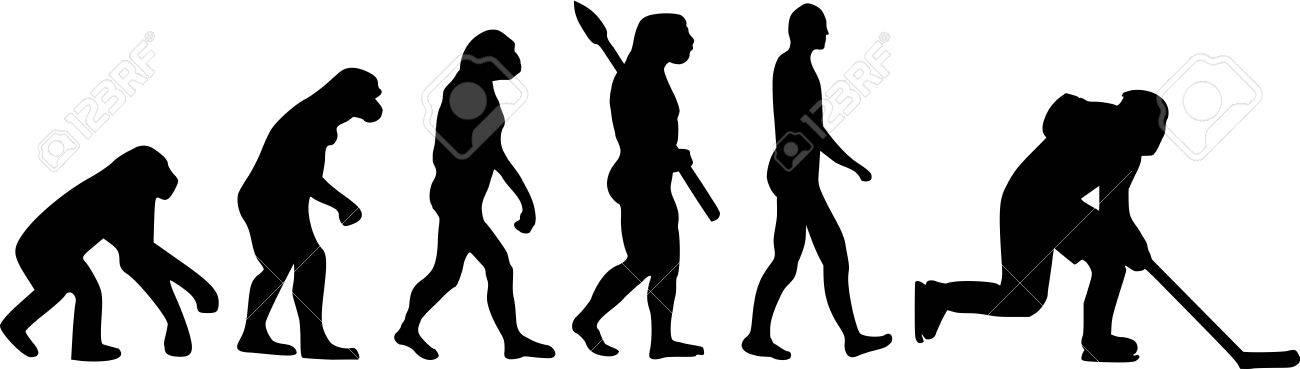 Ice Hockey Evolution - 41473248