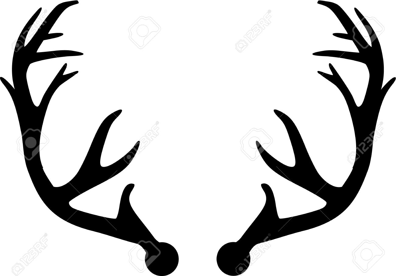 deer antler royalty free cliparts vectors and stock illustration rh 123rf com deer antler vector art download free deer antler vector images