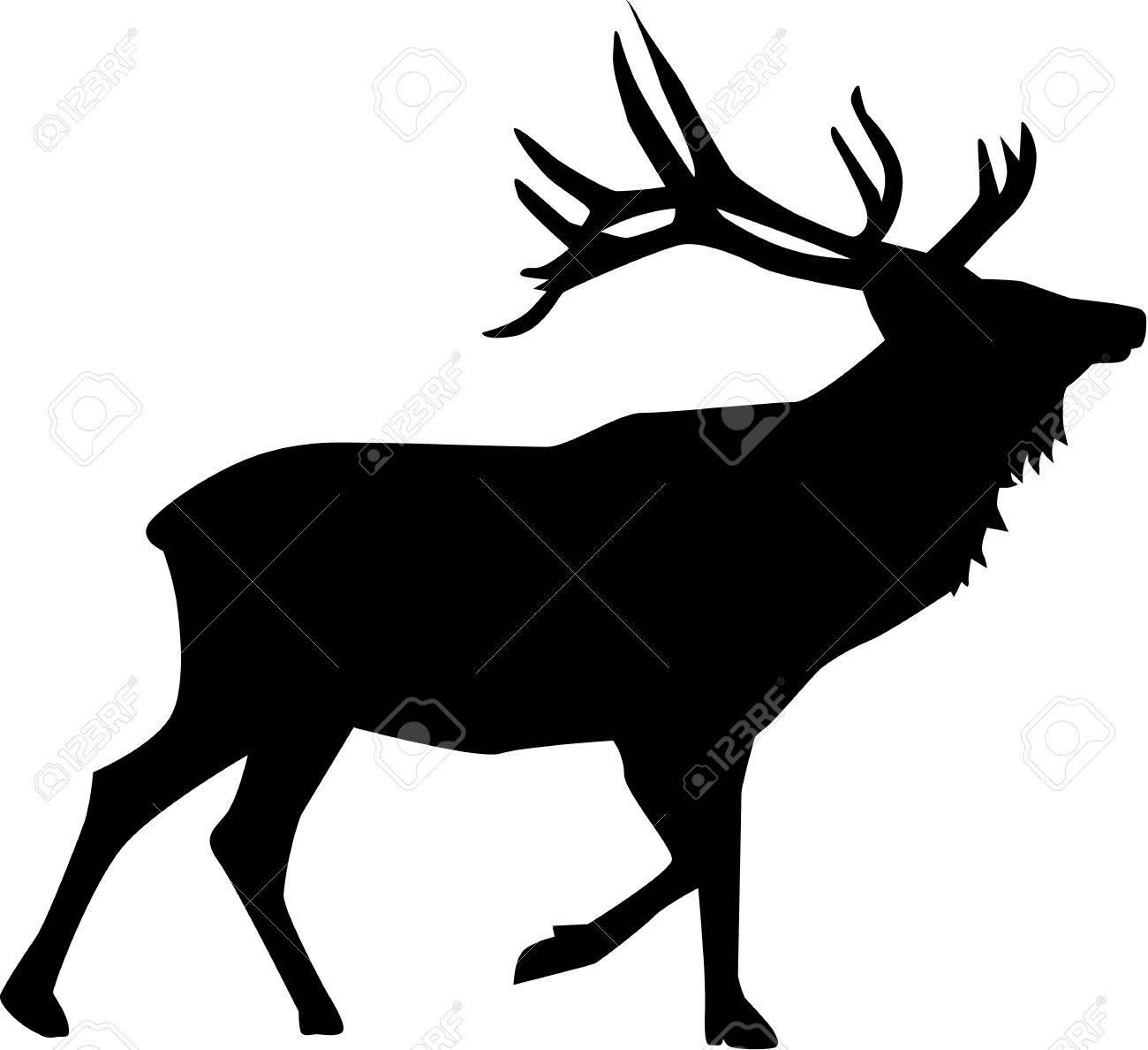 Deer silhouette - 41493103