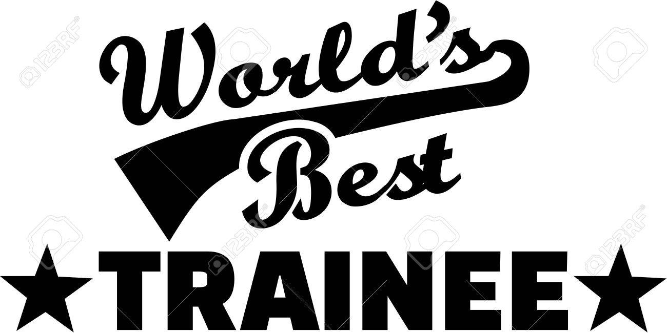 world s best trainee royalty free cliparts vectors and stock
