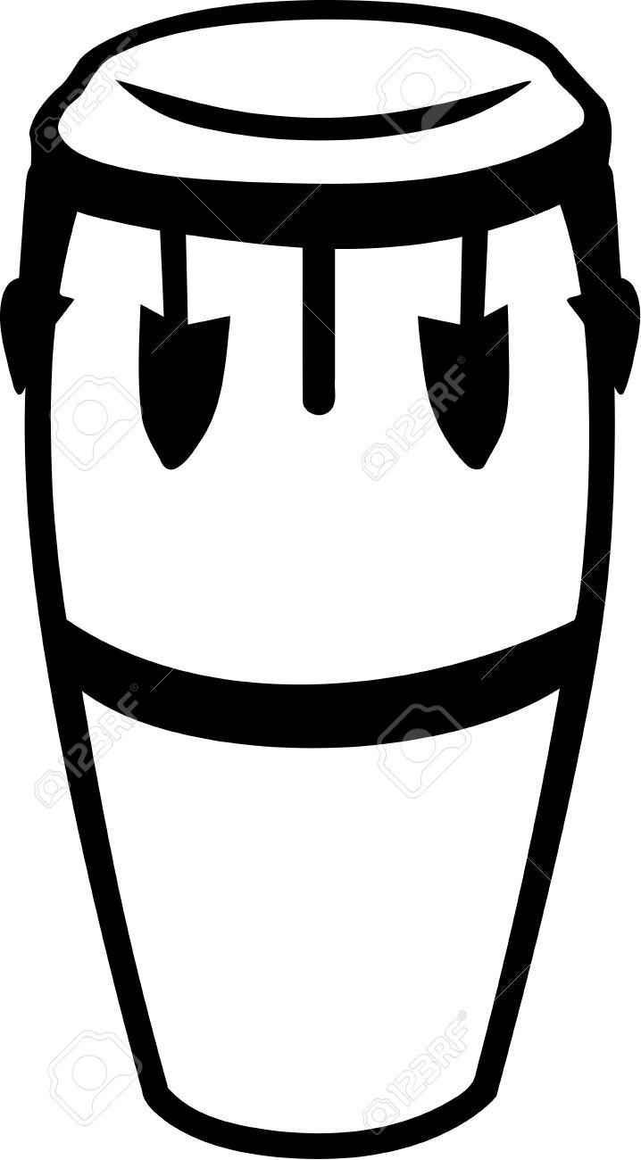 Conga Drum Stock Vector