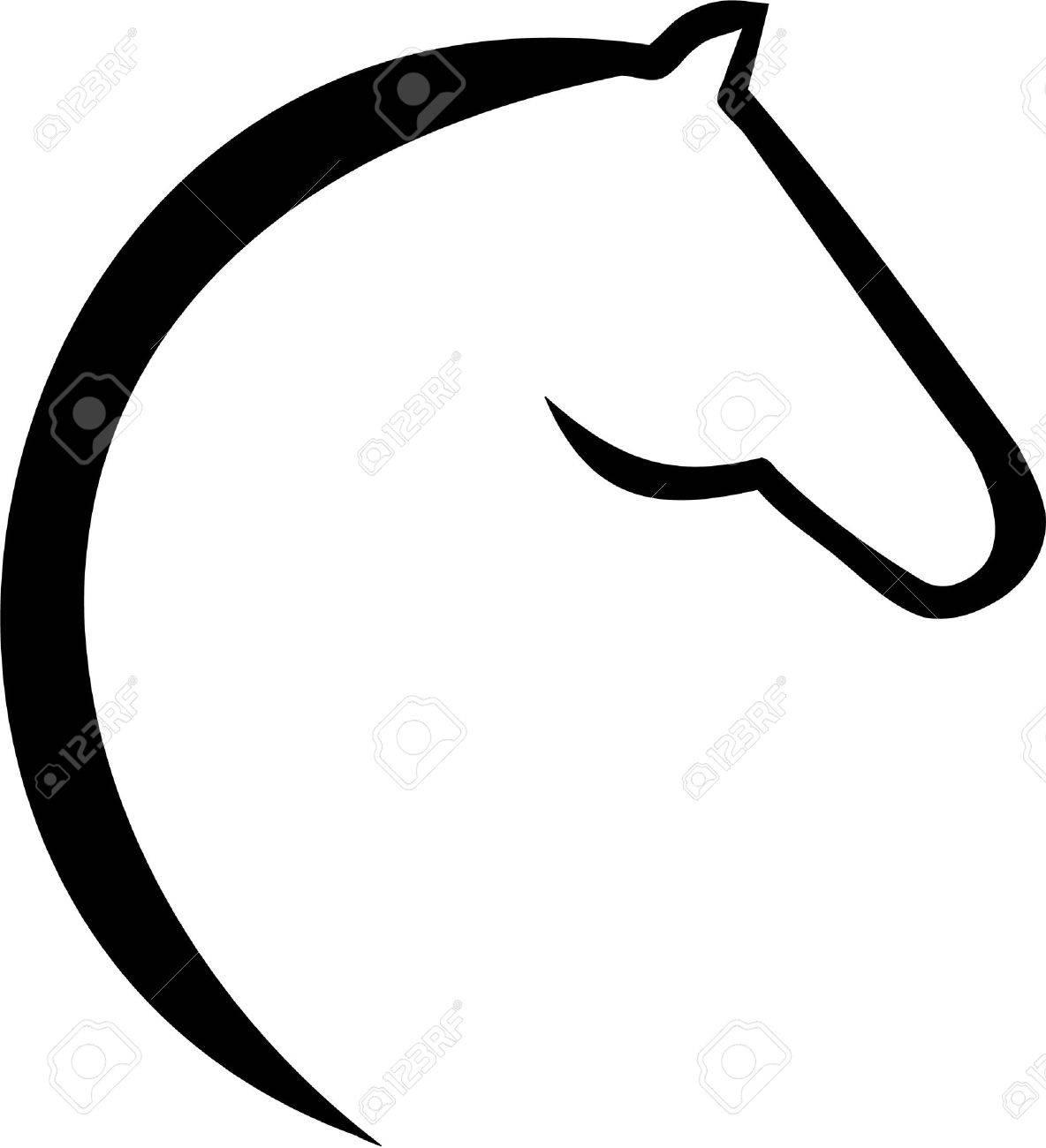 Horse head icon - 46556948