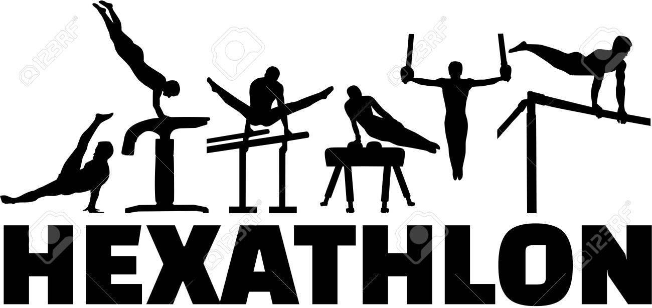 Hexathlon gymnastics set - 49615821