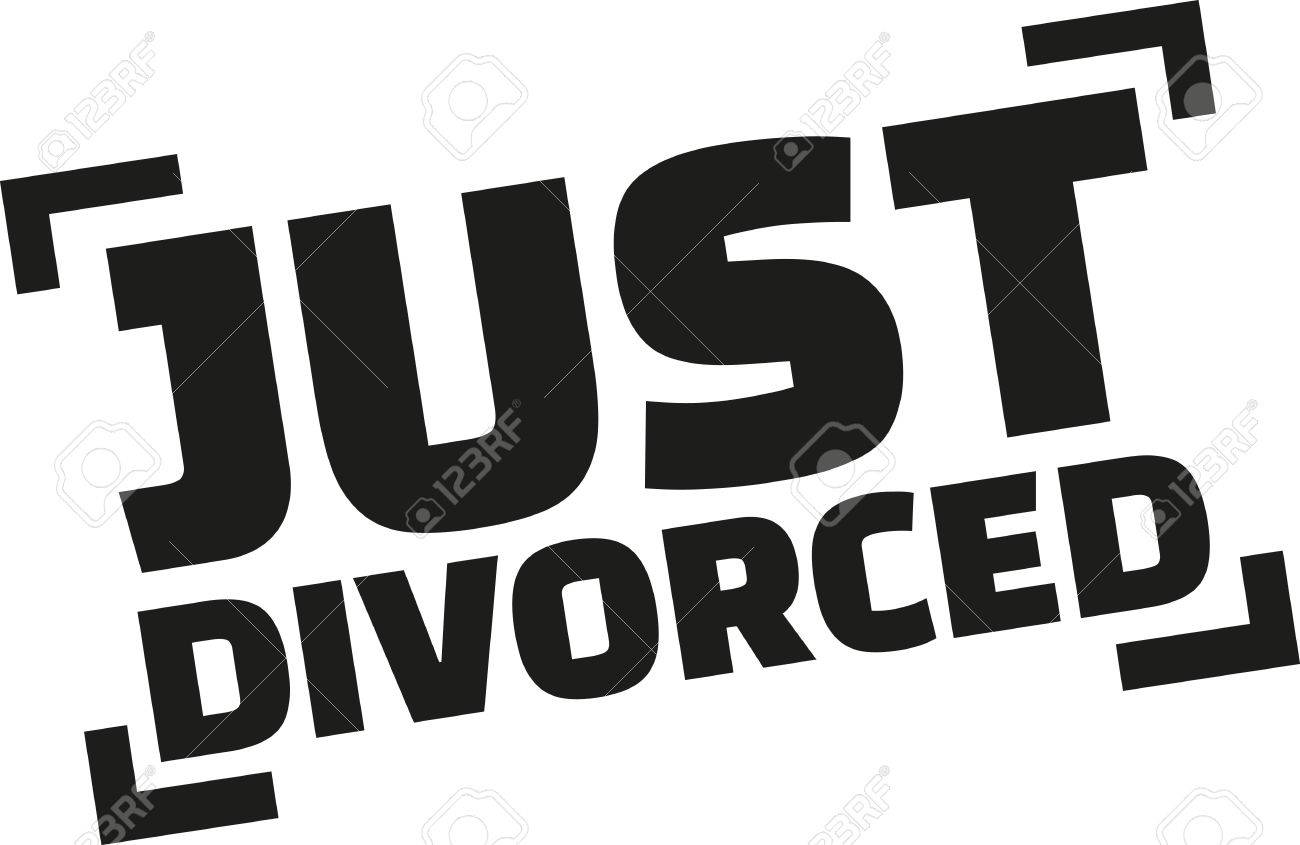 just divorced stamp style royalty free cliparts vectors and stock