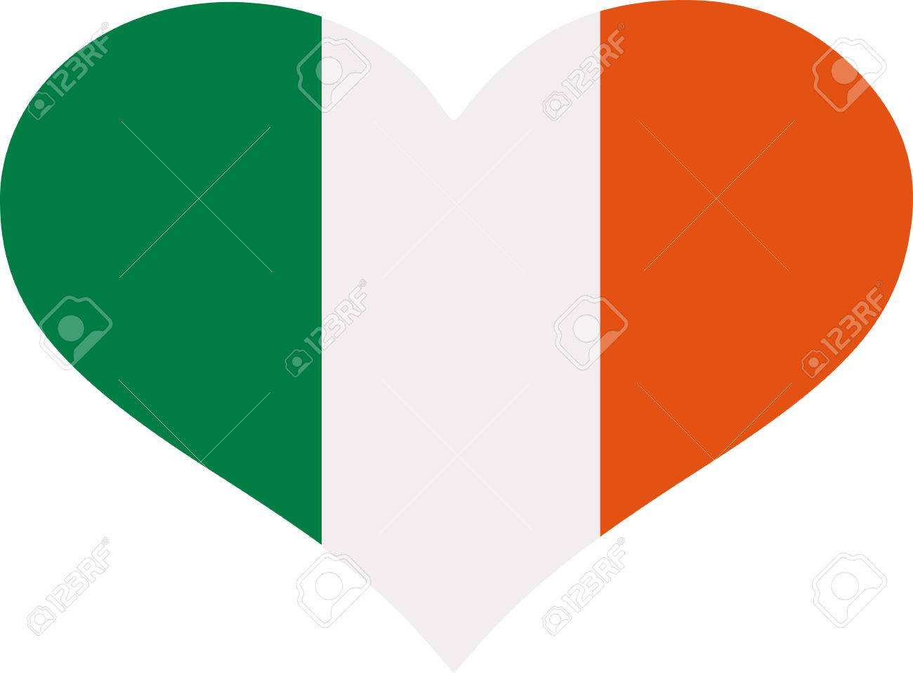 colors of ireland flag