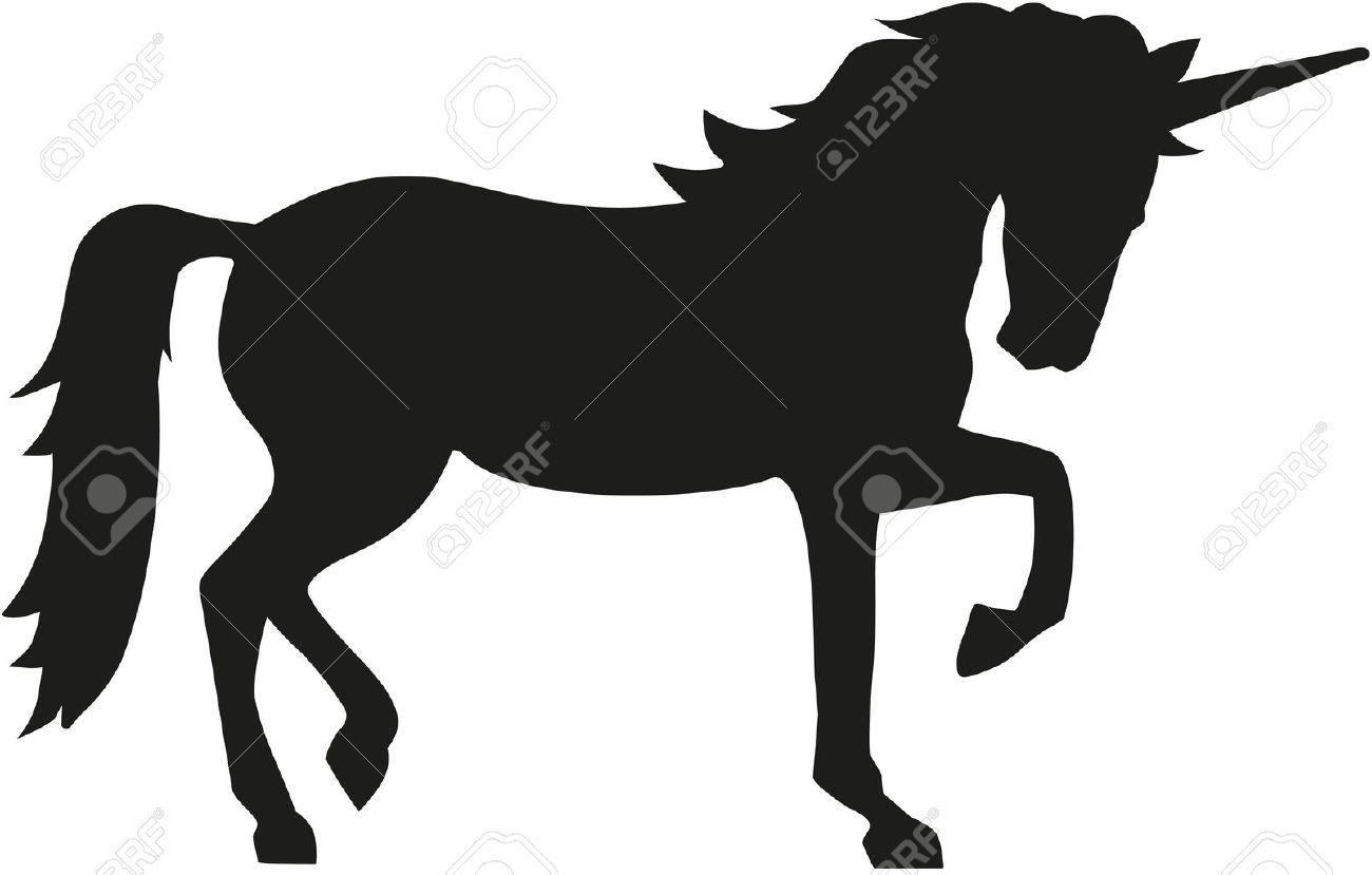 Unicorn silhouette - 51175399