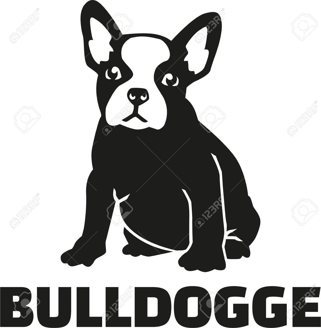 French bulldog with breed name - 51403512
