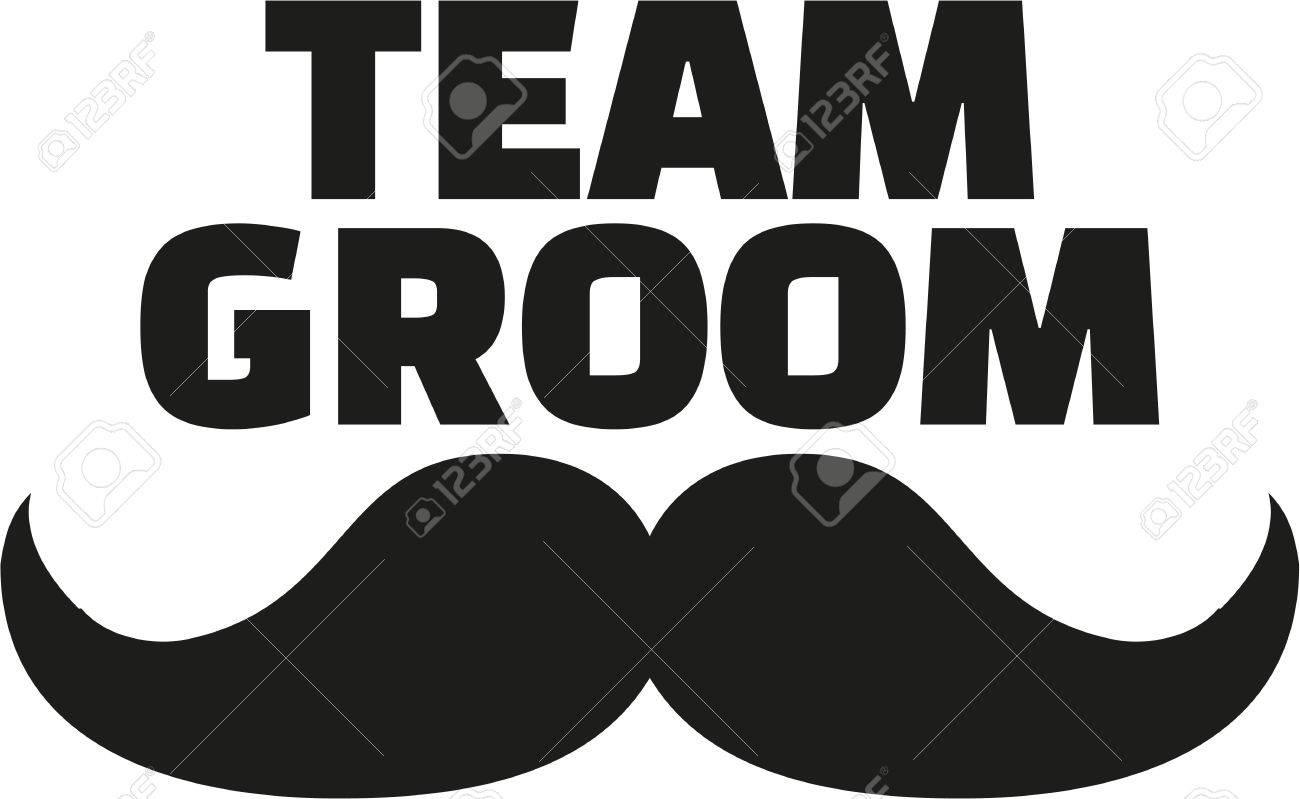 Team Groom with mustache - 51407645