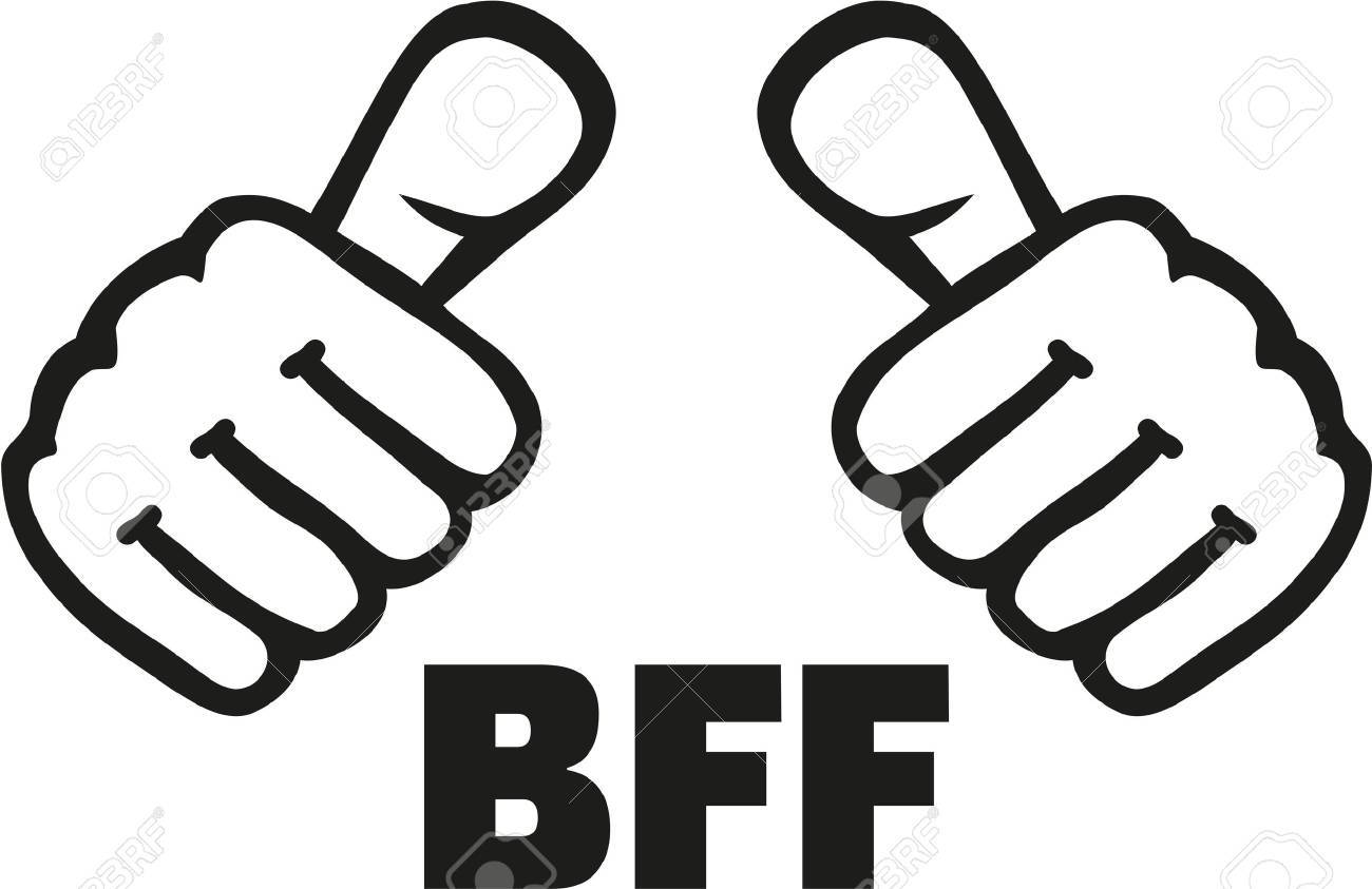 Best friend forever with thumbs - 56619924