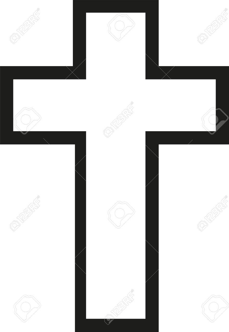 Cross Jesus Outline Royalty Free Cliparts Vectors And Stock Illustration Image 56619923 Does this change the outline color? cross jesus outline