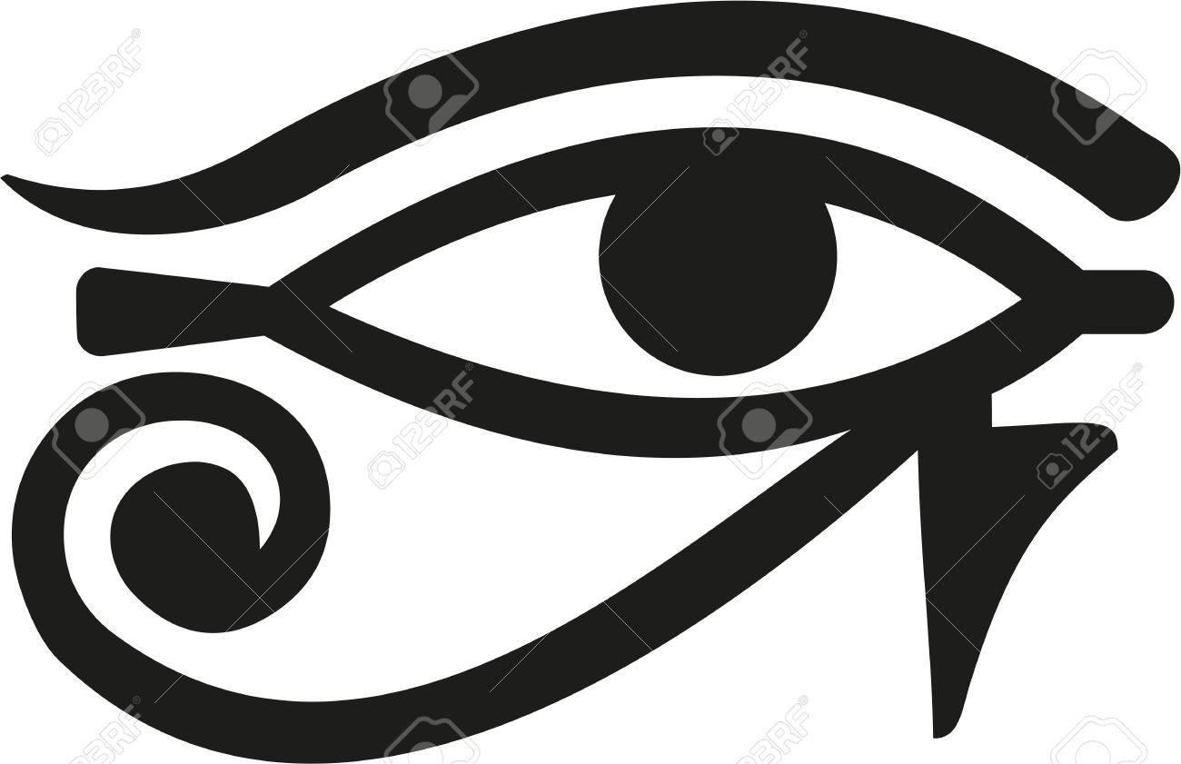 Horus Eye egypt - 58531315