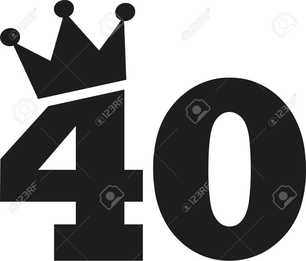 Imagenes De Cumpleanos Numero 40.Numero 40 Cumpleanos De La Corona