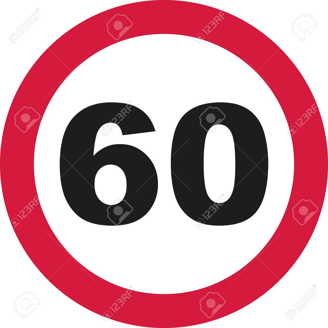 60th birthday traffic sign royalty free cliparts vectors and rh 123rf com 60th birthday clipart free 60th birthday clipart free
