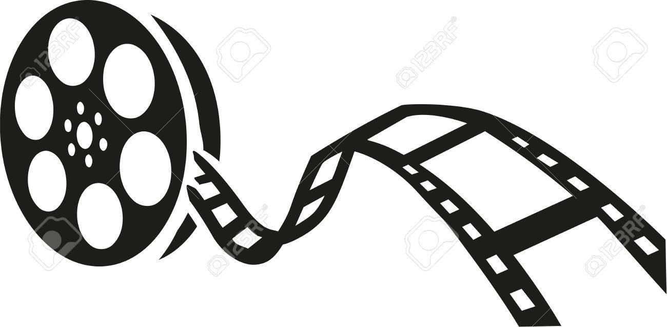 film reel royalty free cliparts vectors and stock illustration rh 123rf com movie reel clipart movie reel clipart border