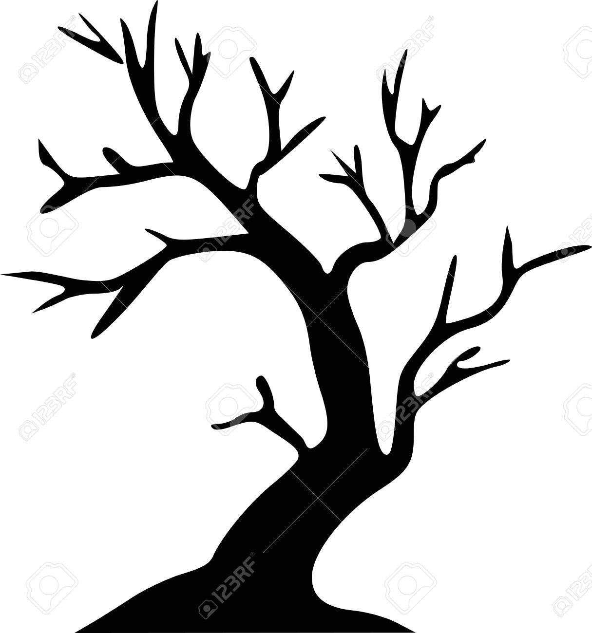 leafless tree halloween tree royalty free cliparts vectors and
