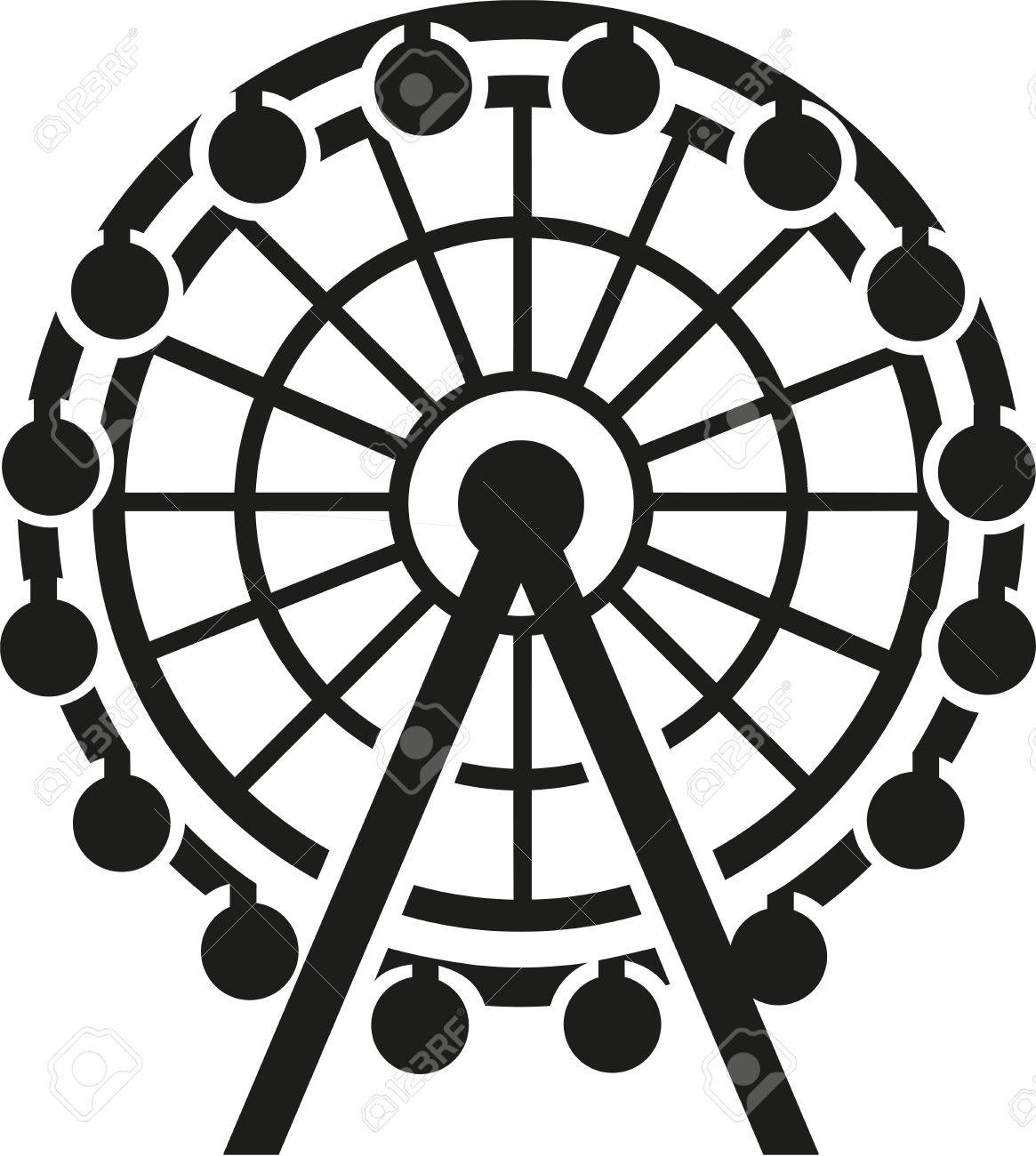 Ferris wheel icon royalty free cliparts vectors and stock ferris wheel icon stock vector 68125639 biocorpaavc
