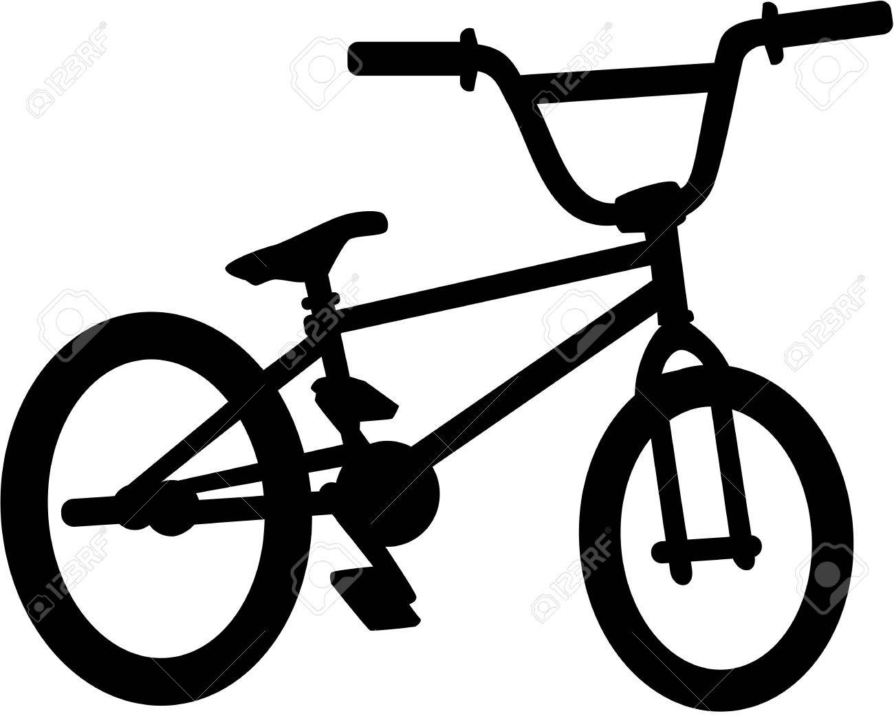 bmx bike silhouette royalty free cliparts vectors and stock rh 123rf com vector bike free vector bike icon free download