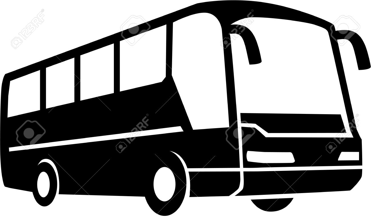 tour bus silhouette royalty free cliparts vectors and stock rh 123rf com bus victoria to butchart gardens bus victoria to seattle