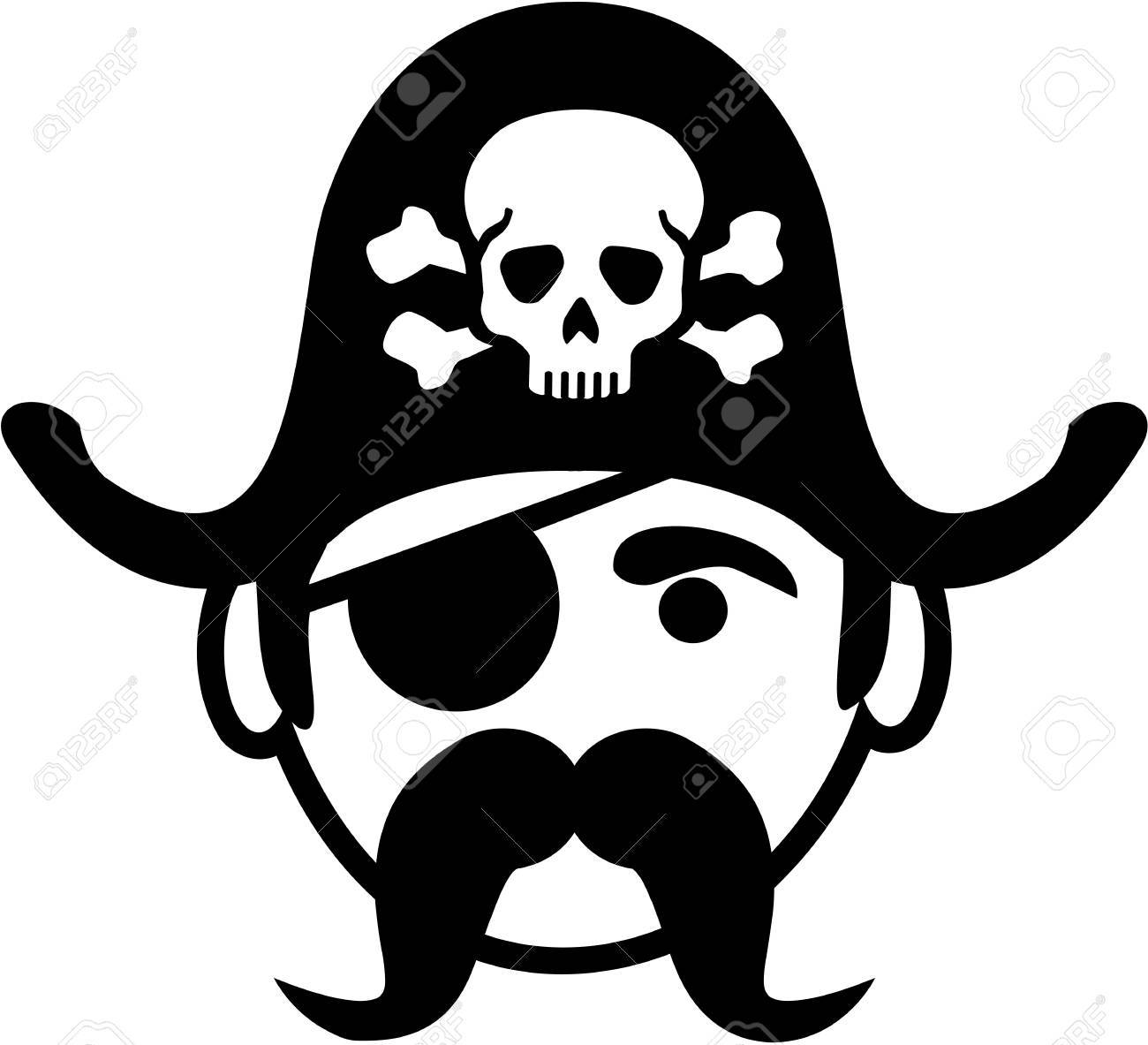Pirate eye patch clipart | free images at clker. Com vector clip.