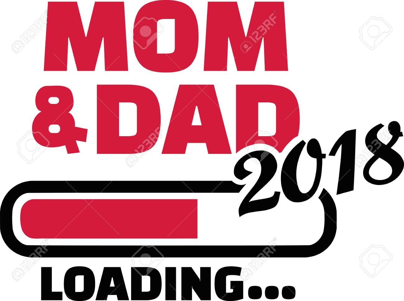 ee52238325d Mom and dad loading royalty free cliparts vectors and stock jpg 1300x970 Dad  to be loading