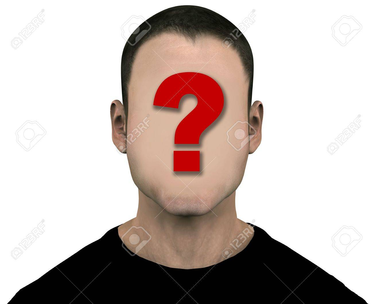 Easily erase the question mark Blank Profile Picture With Question Mark