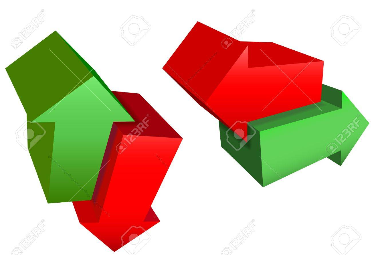 Red Pointing Arrows Arrow Icon Symbols Point