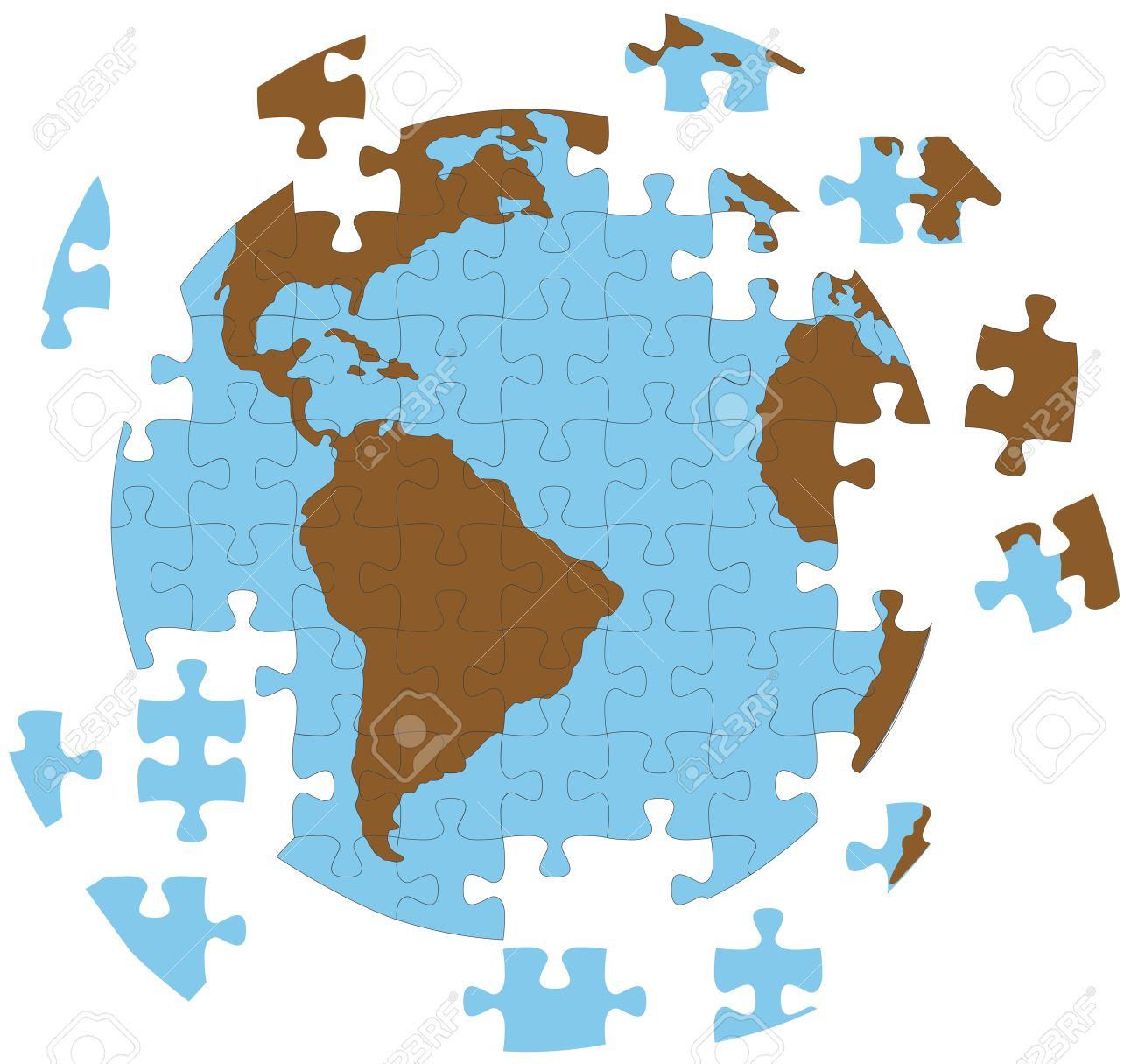 Un real puzzle en la eps vector versin el individuo piezas foto de archivo un real puzzle en la eps vector versin el individuo piezas estn en capas que se traslad a ttulo individual y organizado gumiabroncs Images