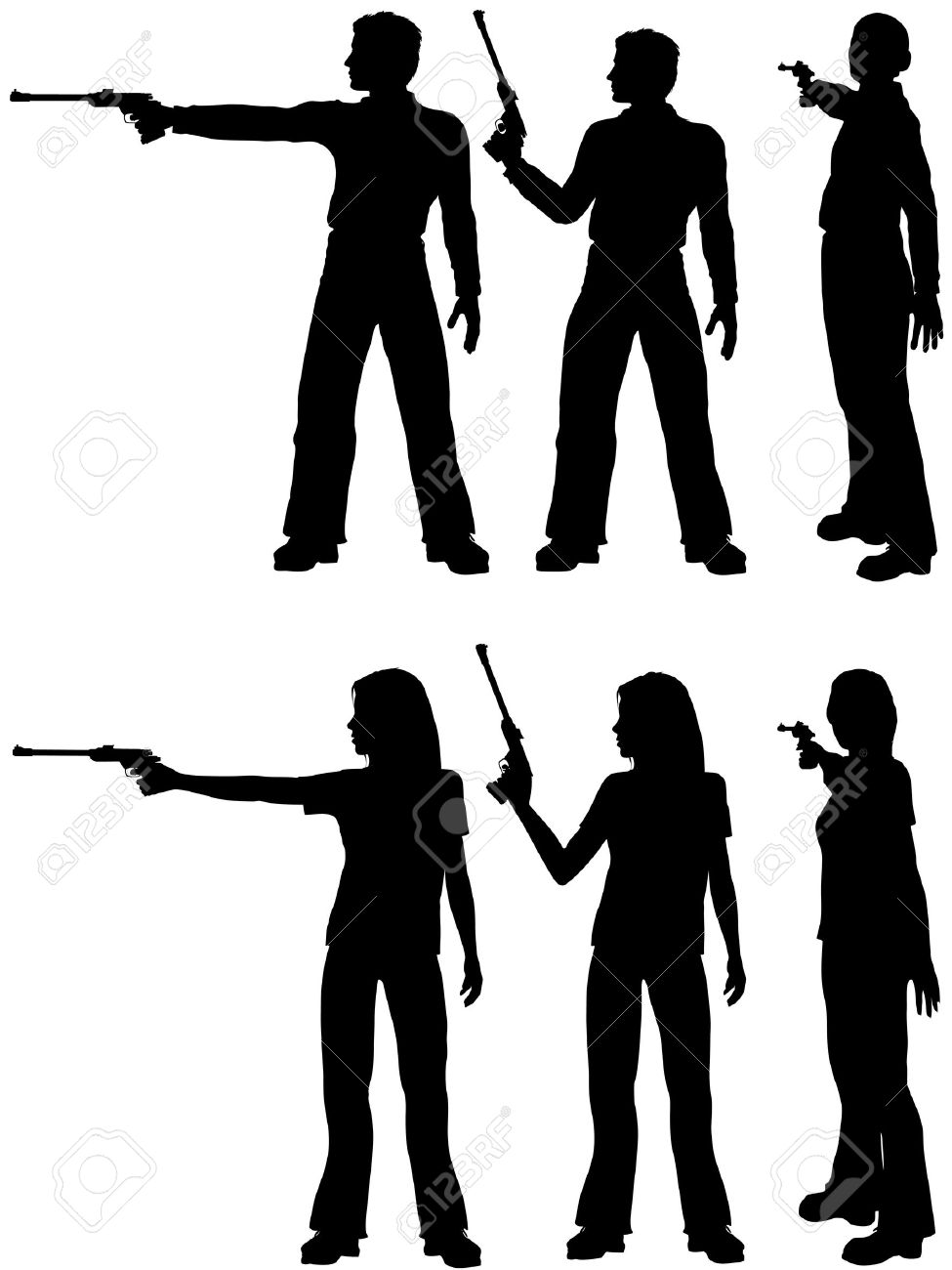 Target Pistol Shooting Stance Shoot a Target Pistol in