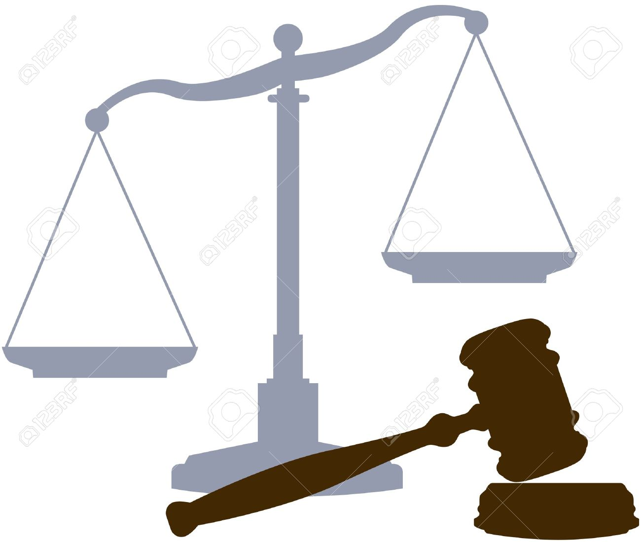 scales and gavel as symbols of the law lawyers and the legal